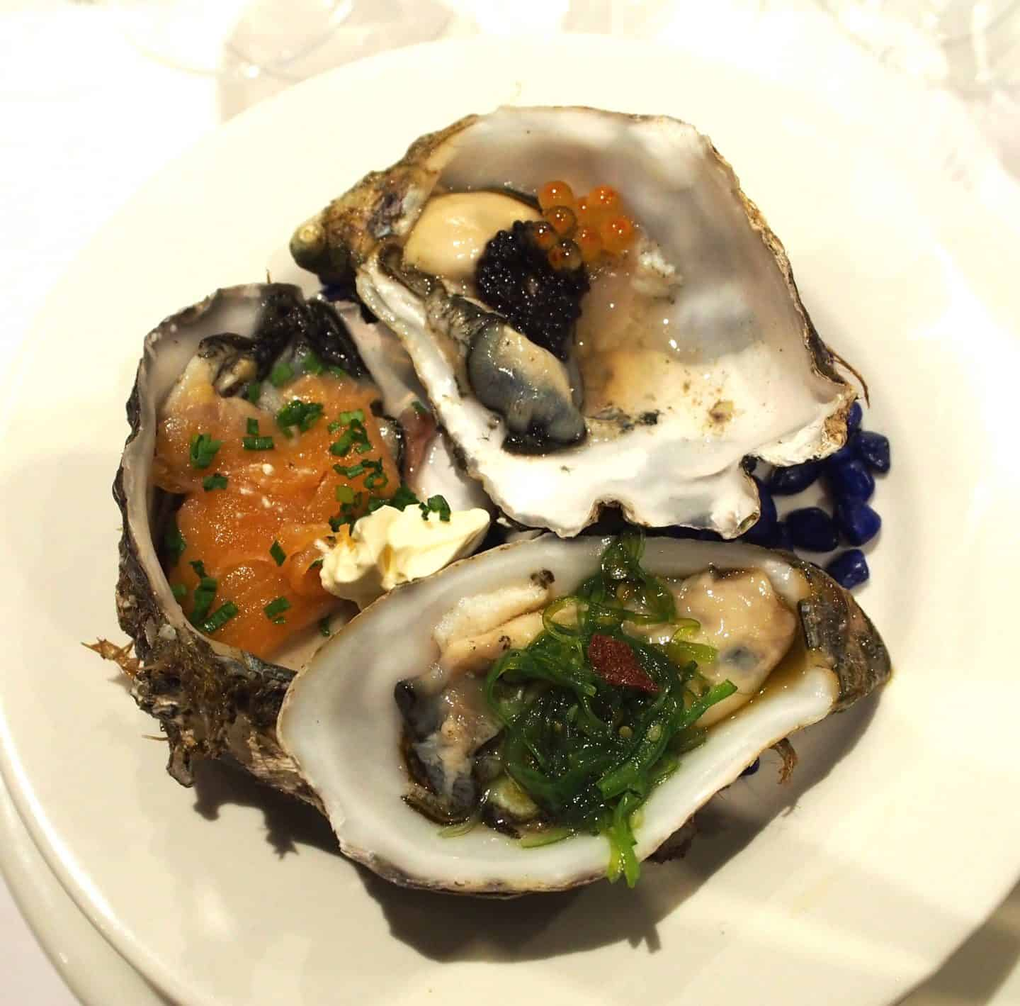Oysters Coffin Bay